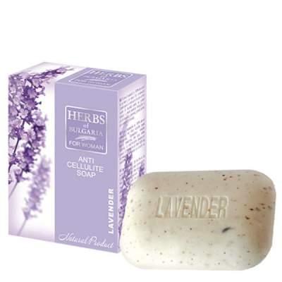 Мыло антицеллюлитное Herbs of Bulgaria Lavender