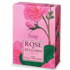 Мыло с частичками лепестков роз Rose of Bulgaria 100 г