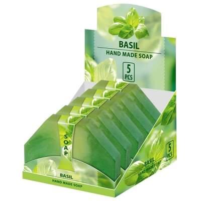 Натуральное мыло ручной работы Базилик NEW