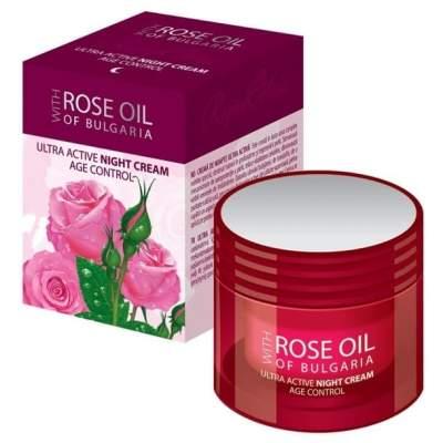 Крем ночной ультраактивный Rose Oil of Bulgaria 50 мл