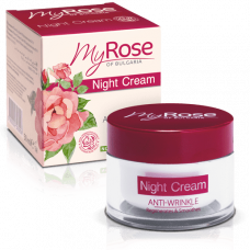 Крем для лица ночной против морщин Anti-Wrinkle Night Cream My Rose of Bulgaria 50 мл