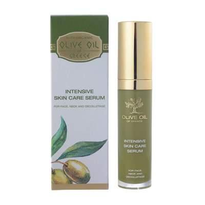 Интенсивная сыворотка для ухода за кожей лица, шеи и зоной декольте Olive Oil of Greece 30 ml