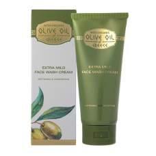 Экстра мягкий крем для умывания лица Olive Oil of Greece 100 ml