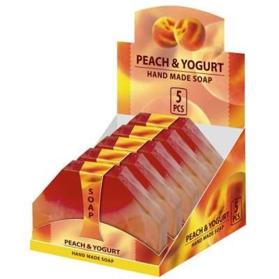 Натуральное мыло ручной работы Персиковый Йогурт  80 г