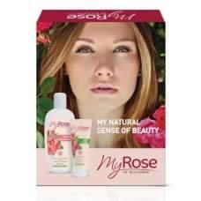Подарочный набор №2 My Rose of Bulgaria Lavena (крем для рук, мицеллярная розовая вода)
