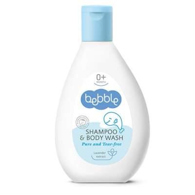Детский Шампунь для волос и тела Shampoo & Body Wash Bebble 200 ml