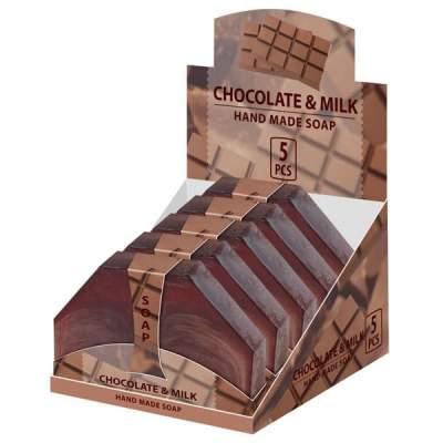 Натуральное мыло ручной работы Шоколадное молоко  80 г