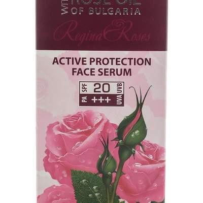Сыворотка для лица для активной защиты SPF 20 Rose Oil of Bulgaria