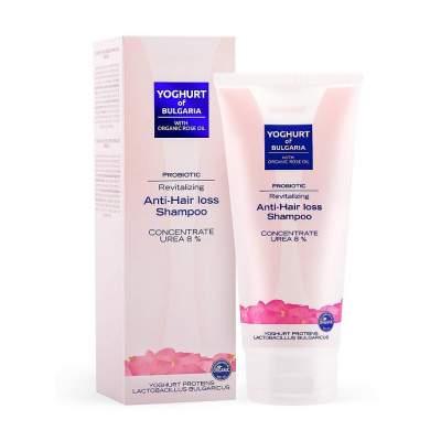 Пробиотический восстанавливающий шампунь против выпадения волос Yoghurt of Bulgaria