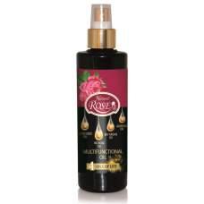 Универсальное масло 4 в 1 для лица, тела и волос  4 масла жизни, Rose Natural, 250 мл
