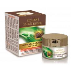 Увлажняющий дневной крем для лица с экстрактом улитки и гиалуроновой кислотой. Exclusive Snail. 50 мл