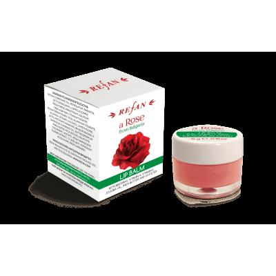 Бальзам для губ Refan Роза из Болгарии 5мл