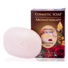 Мыло с аргановым маслом и розовой водой, Argan & Rose, 100 г