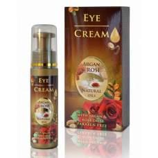Подтягивающий крем для контура глаз с аргановым и розовым маслами,  Argan & Rose, 35 мл