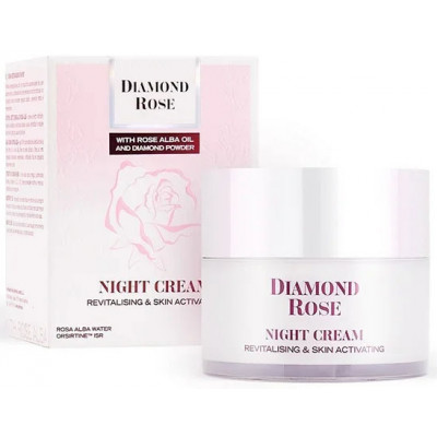 Крем для лица ночной восстанавливающий Diamond Rose 50 мл