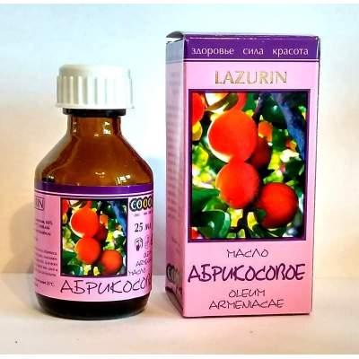 Абрикосовое масло Lazurin 25 мл