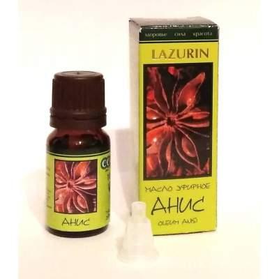 Натуральное эфирное  масло  аниса Lazurin