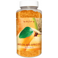 Соль для ванны Дыня и Абрикос Refan 250г