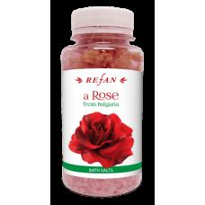 Соль для ванны Роза из Болгарии Refan 250г