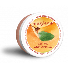 Крем-масло для тела Дыня и Абрикос Melon & Apricot Refan 200 мл
