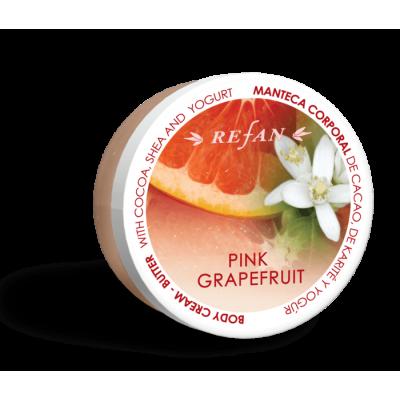 Крем-масло для тела Розовый Грейпфрут Pink Grapefruit Refan 200 m