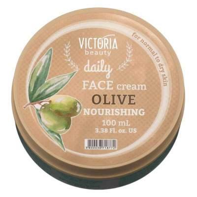 Питательный крем для лица с оливковым маслом Daily Victoria Beauty, 100 мл