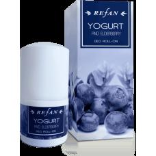 Дезодорант для  тела Йогурт и бузина Refan 50мл