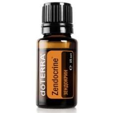 Zendocrine, смесь эфирных масел для детоксикации, doTerra, 15 мл