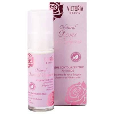 100% натуральный крем для области вокруг глаз с болгарским розовым маслом Natural Roses of Bulgaria, 30 мл