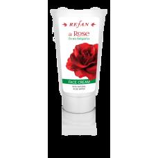 Крем для лица увлажняющий Роза из Болгарии Refan 75 ml