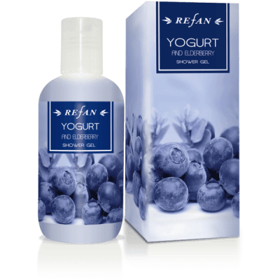 Гель для душа Йогурт и Бузина Yogurt and Eldberry 200 мл