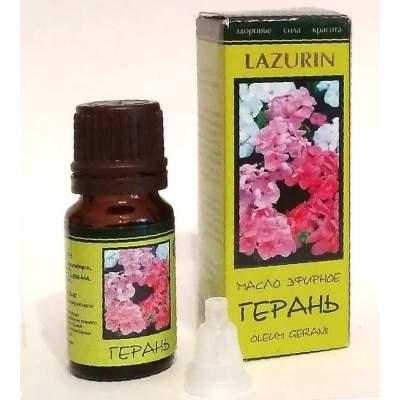 Натуральное эфирное масло герани Lazurin