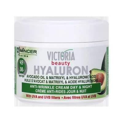 Омолаживающий дневной и ночной крем с защитой от солнца Anti-wrinkle cream day & night with UVA and UVB filters Hyaluron & Folic Acid 30-45 лет, 50 мл