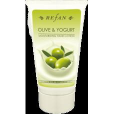 Увлажняющий лосьон для рук Олива и Йогурт Olive & Yoghurt Refan 75 мл