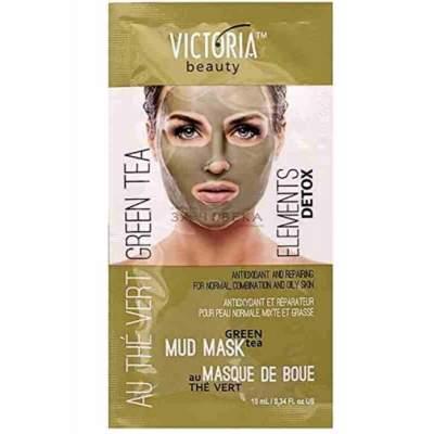 Восстанавливающая грязевая маска Зеленый чай Elements Detox, 10 мл