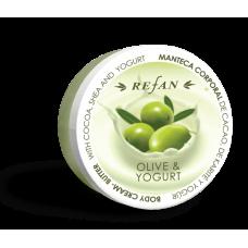 Крем-масло для тела Олива и Йогурт Refan 200мл