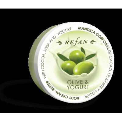 Крем-масло для тела Олива и Йогурт Olive & Yoghurt Refan
