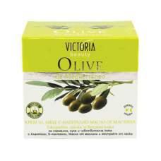 Дневной и ночной крем для лица с натуральным оливковым маслом Olive de Mediterraneo, 50 мл
