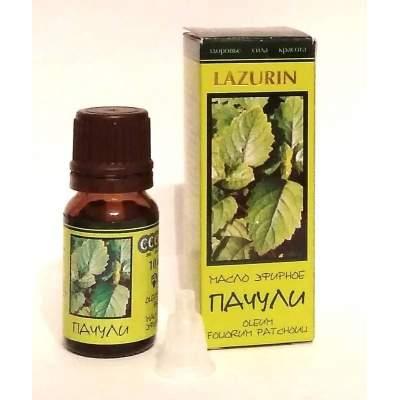 Натуральное эфирное масло пачули Lazurin