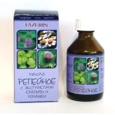 Репейное масло с экстрактом крапивы и ромашки lazurin 50 мл