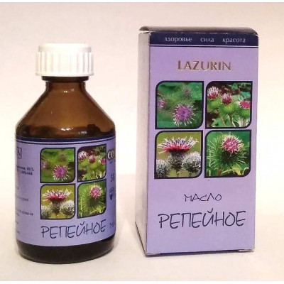 Репейное масло  Lazurin, 50 мл