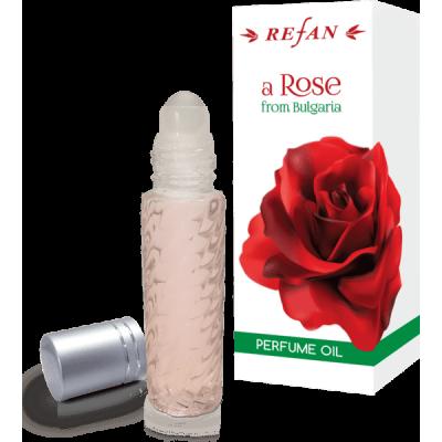 Масло парфюмированное Роза из Болгарии Refan