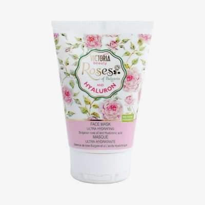 Увлажяющая маска для лица с розовым маслом и гиалуроновой кислотой Roses of Bulgaria and Hyaluron, 100 мл