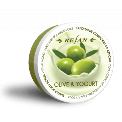 Эксфолиант для тела Олива и йогурт Olive & Yoghurt Refan 240г