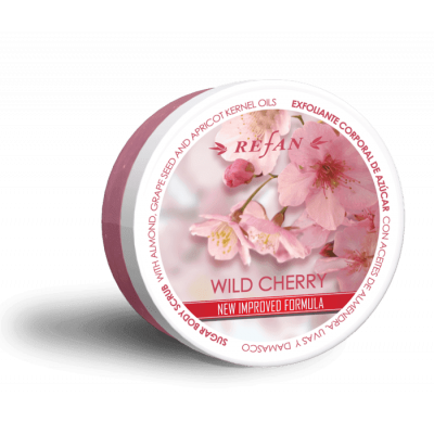 Скраб для тела Дикая Вишня Wild Cherry Refan 240 г