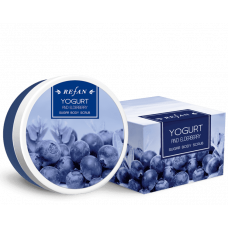Скраб для тела Йогурт и Бузина Yogurt and Eldberry Refan 240 г