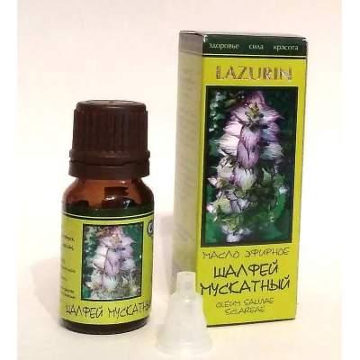 Натуральное эфирное масло шалфея мускатного Lazurin