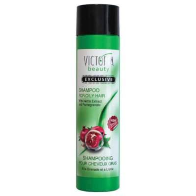 Шампунь для жирных волос с экстрактом граната и крапивы Shampoo for oily hair with nettle extract and pomegrenate Exclusive , 250 мл