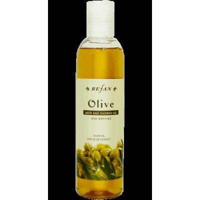 Гель для душа увлажняющий  Олива Olive Refan