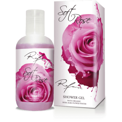 Гель для душа Нежная роза Soft Rose Refan